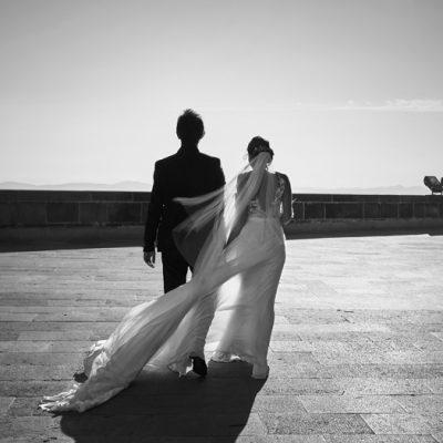 Montse y Davide, boda e historia de amor de ensueño